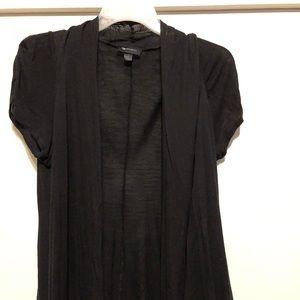 Short sleeve lightweight cotton cardigan